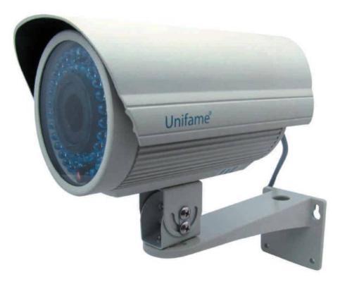 UNIR-4960R 1/3  Sony CCD Varifocal 3,5~8mm IR Kamera