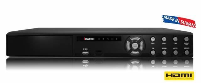 İCATCH 811ZA-N 8 Kanal HALF-D1 H.264 Dijital Kayıt Cihazı