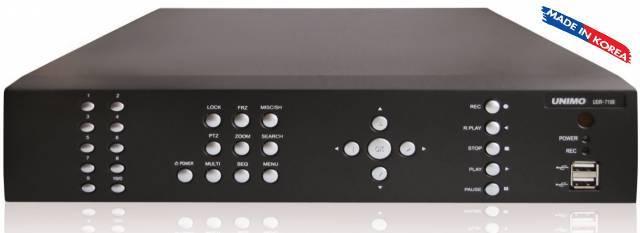 UNİMO UDR-7108 -8 Kanal H.264 HALF-D1 Dijital Kayıt Cihazı