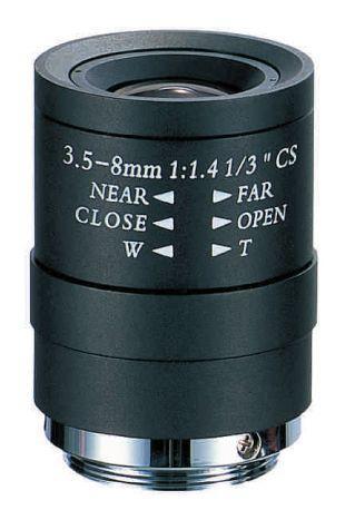 UNİFAME UL-0358VMM Mega Pixel Manuel Varifocal Lens