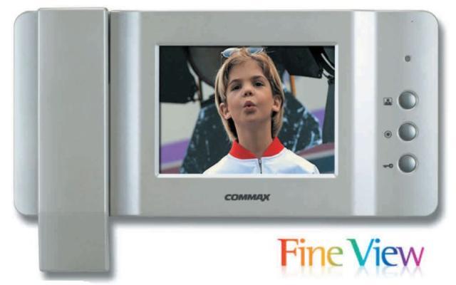 CDV 50P 5 LCD TFT Renkli Villa Tipi İki Kamera Girişli Monitör