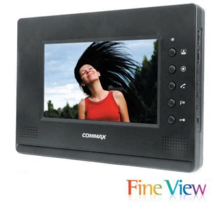 CDV 70A Siyah Renkli 7 LCD Handsfree Monitör