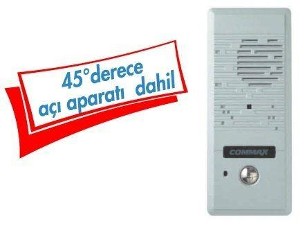 DRC-4 CP Renkli Pin Hole 1/3  Kameralı Zil panosu